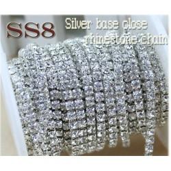 SS8 Crystal kæde