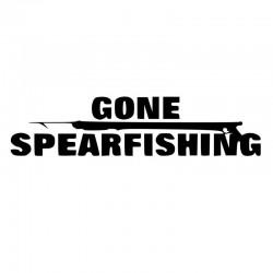 Spearfishing klistermærke