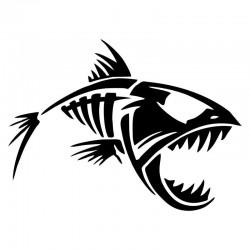 Fisk klistermærke