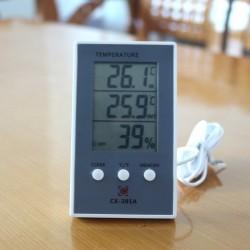 Ude-Inde termometer
