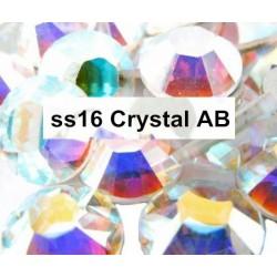 100 stk SS16 Crystal AB