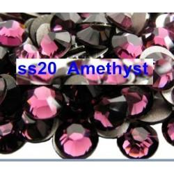 100 stk SS20 Amethyst