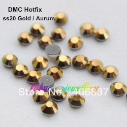 100 stk SS20 Gold Hotfix