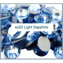 100 stk SS20 Light Sapphire